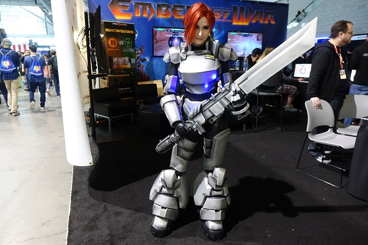 3D Printed Cosplay for PAX 2016