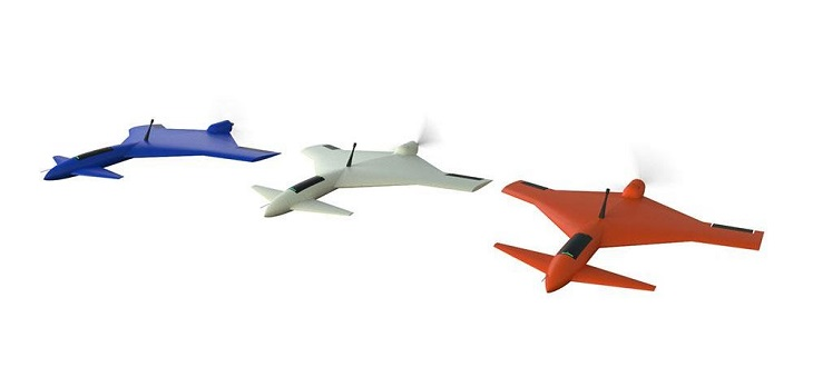 Captor UAS: O-Qualia's 3D Printed Fixed-Wing Drone