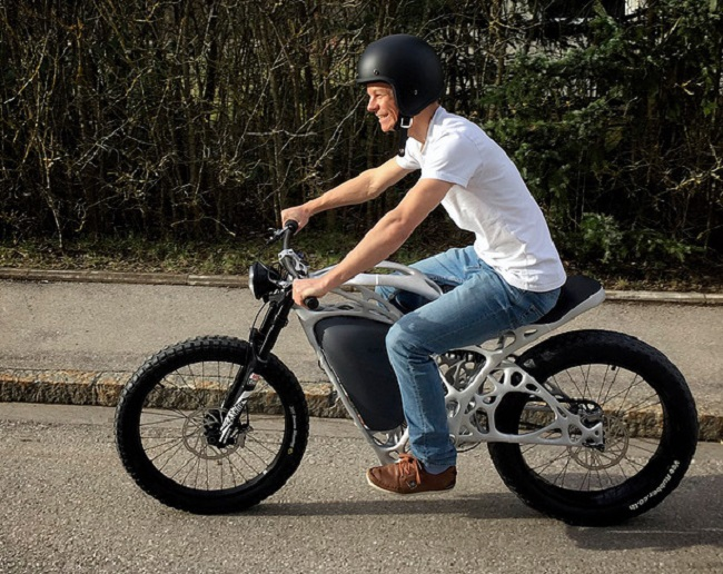Take a Ride on APWorks 3D Printed Motorcycle