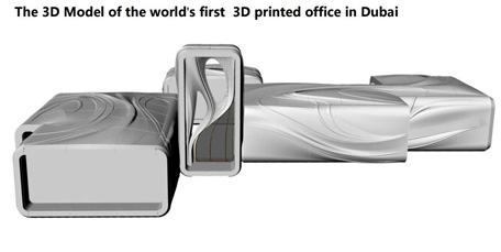 The Inauguration of the First 3D Printed Building in Dubai