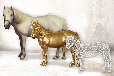 Create Your Own 3D Printed Horse and Pony Statues