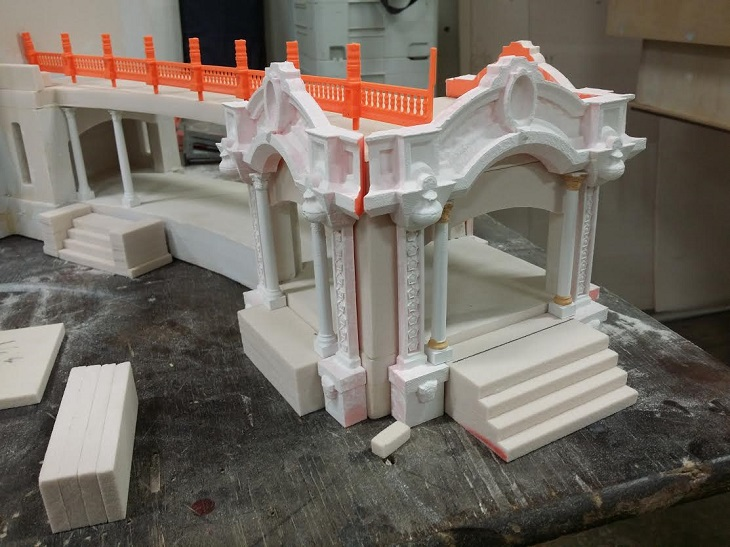 San Diego Model Railroad Museum 3D Printed Decorations