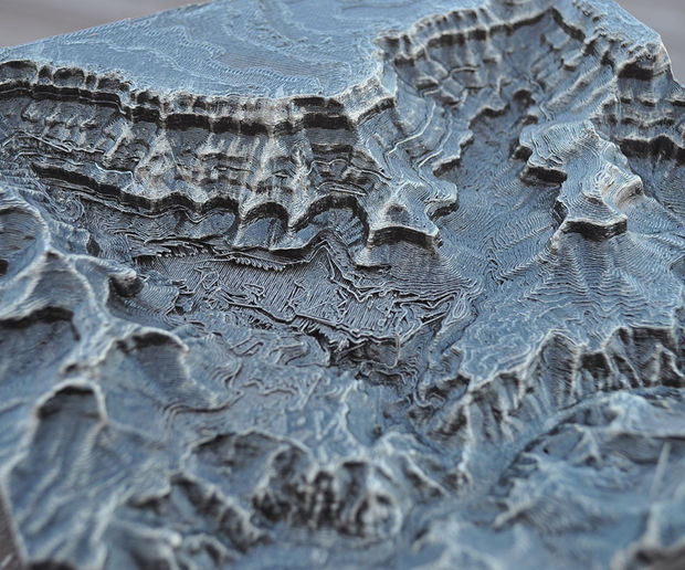Learn How to Create Your Own 3D Printed Map