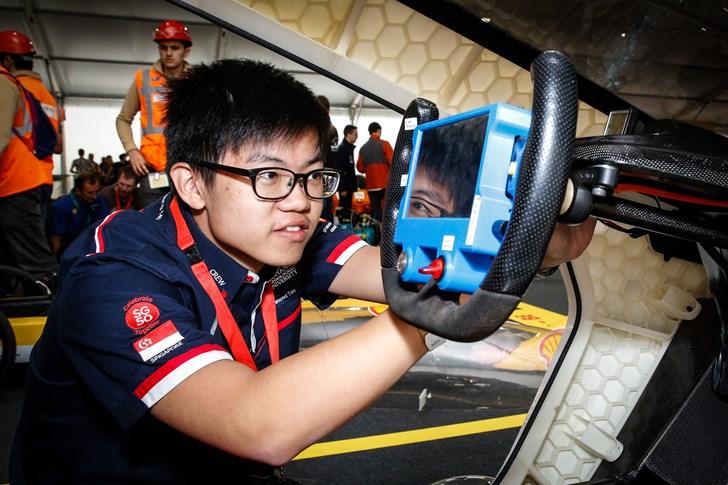 3D Printed Car Shell For Eco-Marathon