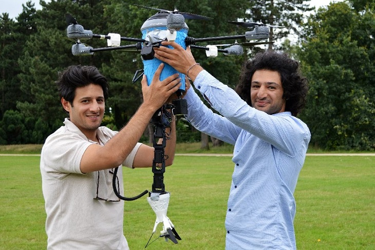 3D Printed Mine Kafon Drone