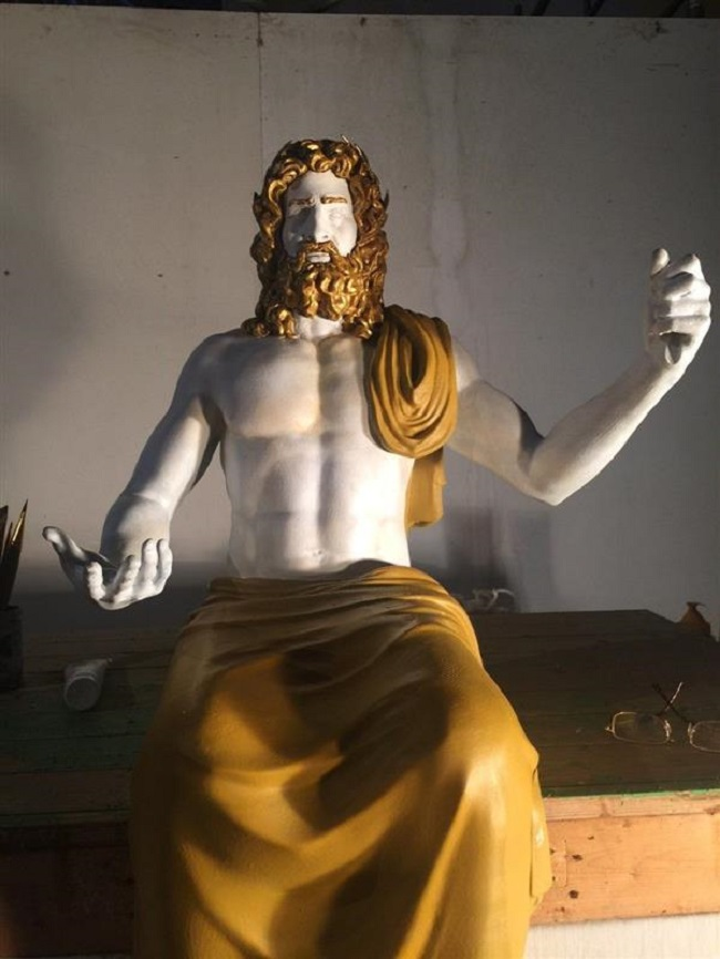 The Use of 3D Printing in Reviving the Statue of Zeus in Olympia