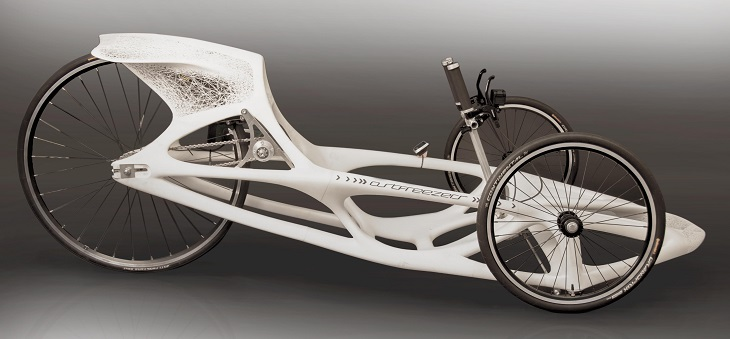 3D Printed Race Carts by Materialise