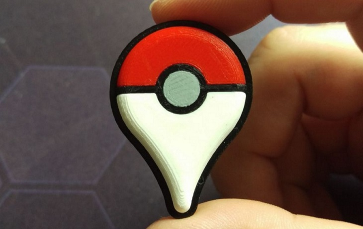 3D Printable Pokemon Go Items