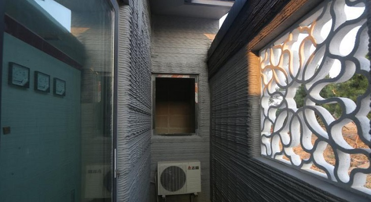 Phase One of 3D Printed Houses in Shandong Province, China an Ongoing Project