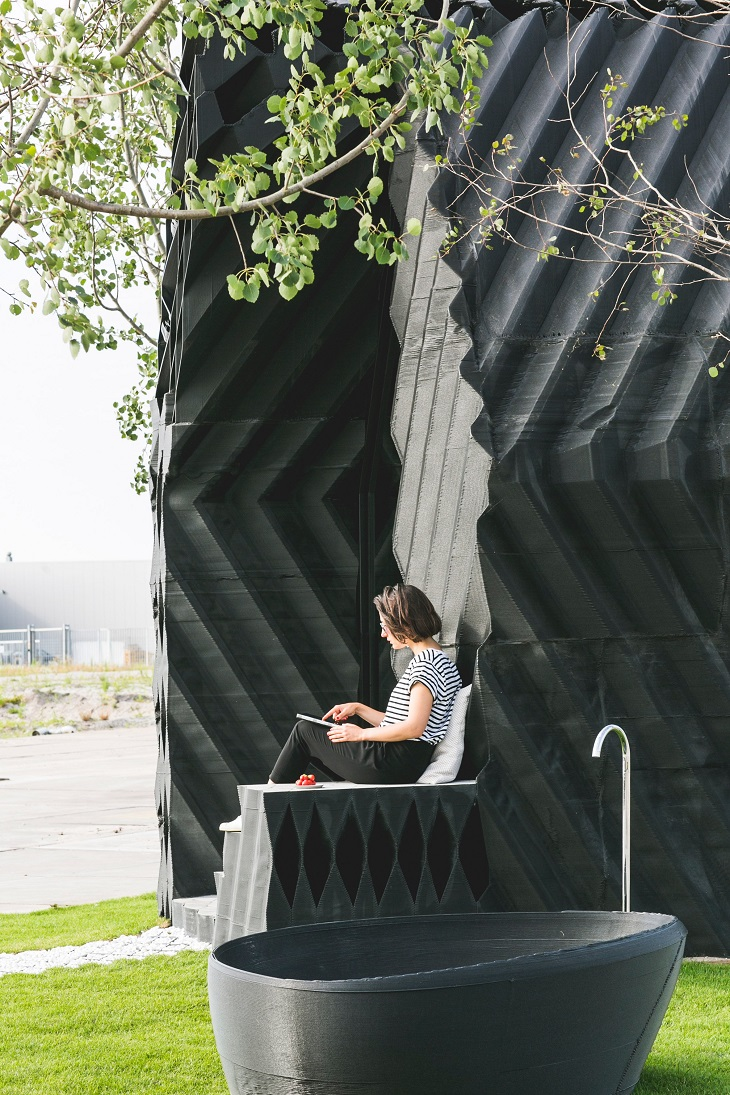 Urban Cabin: A 3D Printed Cabin Created by the DUS Architects